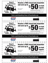 Photo of Don't Drip & Drive: Repair shop coupon